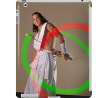 Poi portrait iPad Case/Skin