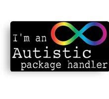 Autistic Package Handler Canvas Print