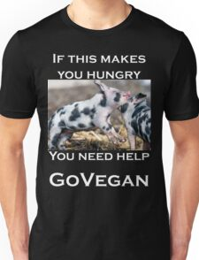 Vegan VIctor Unisex T-Shirt