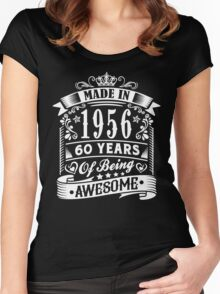MADE IN 1956 Women's Fitted Scoop T-Shirt