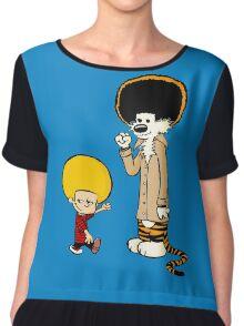 Calvin & Hobbes : Afro Style Chiffon Top