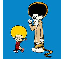 Calvin & Hobbes : Afro Style Photographic Print