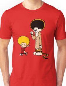 Calvin & Hobbes : Afro Style Unisex T-Shirt