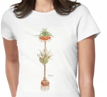 Fritillaria imperialis (Crown imperial) Botanical Womens Fitted T-Shirt