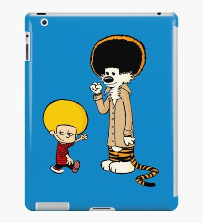 Calvin & Hobbes : Afro Style iPad Case/Skin