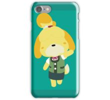 Isabelle (Shizue) Turquoise  iPhone Case/Skin