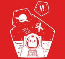 Christobelle Purrlumbus: Oblivious Explorer of Space One Piece - Short Sleeve