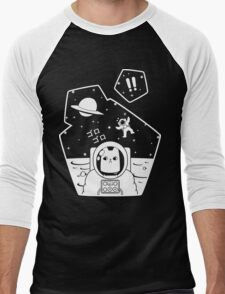 Christobelle Purrlumbus: Oblivious Explorer of Space Men's Baseball ¾ T-Shirt