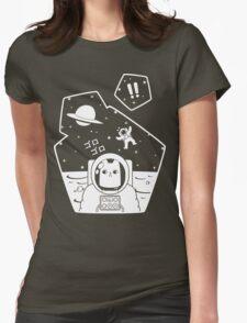 Christobelle Purrlumbus: Oblivious Explorer of Space Womens Fitted T-Shirt