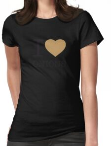 I ♥ ONIONS Womens Fitted T-Shirt
