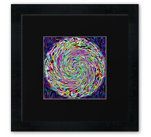 Rainbow Galaxy Framed Print