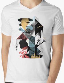 Shapes and Nightmares Mens V-Neck T-Shirt