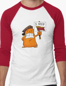I NEED PIE! Men's Baseball ¾ T-Shirt