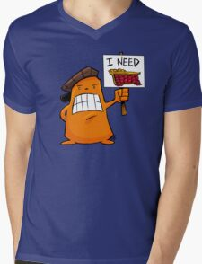 I NEED PIE! Mens V-Neck T-Shirt