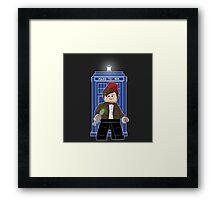 Lego Doctor Framed Print