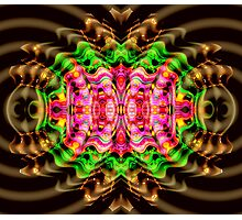 Vivid Colour Warp .... View larger for full effect Photographic Print