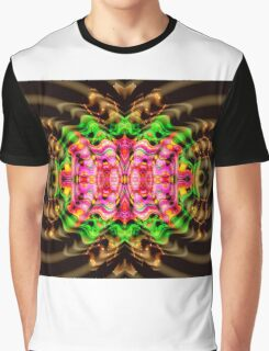 Vivid Colour Warp .... View larger for full effect Graphic T-Shirt