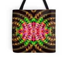 Vivid Colour Warp .... View larger for full effect Tote Bag