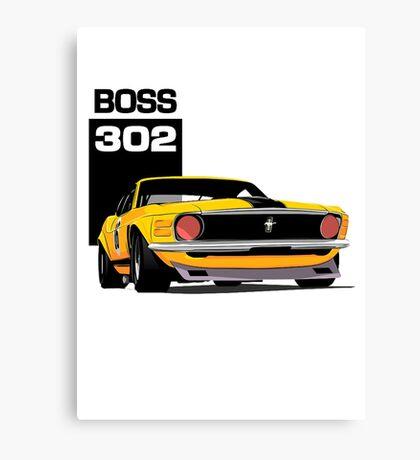 American Muscle Car 302 Canvas Print
