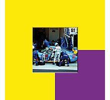 22 LeMans - Porsche Pit Photographic Print