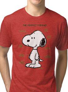 Snoopy : The Perfect Friend Tri-blend T-Shirt