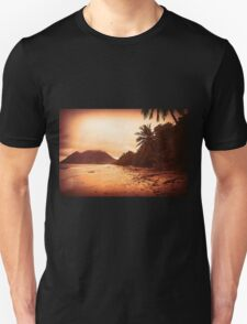 Sunset Sandy Beach T-Shirt