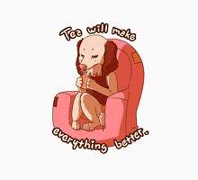 Tea will make everything better Unisex T-Shirt