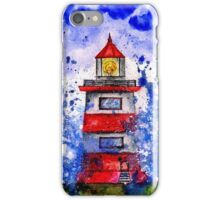 Lighthouse in the Storm iPhone Case/Skin