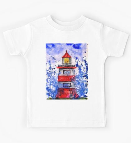 Lighthouse in the Storm Kids Tee