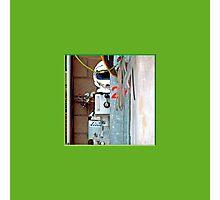 52 LeMans2 - Pit Helmet Photographic Print