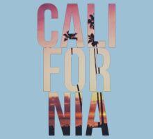 California Beach Kids Tee