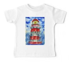 Lighthouse in the Storm 2 Baby Tee
