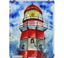 Lighthouse in the Storm 2 iPad Case/Skin