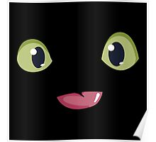 Night Furry Toothless Face Poster