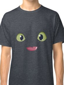 Night Furry Toothless Face Classic T-Shirt