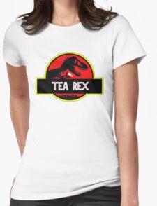 Tea rex parody T - rex Womens Fitted T-Shirt
