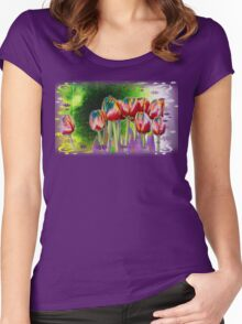 Tulip a la Lumia Women's Fitted Scoop T-Shirt