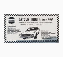 Datsun 180B is here NOW! One Piece - Short Sleeve