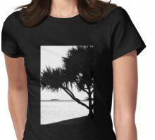 Pandanus Womens Fitted T-Shirt