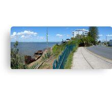 Shipwreck panorama Canvas Print