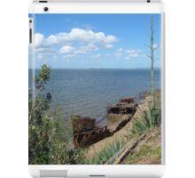 Shipwreck panorama iPad Case/Skin