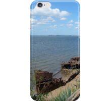 Shipwreck panorama iPhone Case/Skin