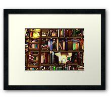 The Garden of Many Stories Framed Print