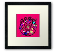 Arts and Witchcraft Framed Print