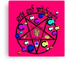Arts and Witchcraft Canvas Print