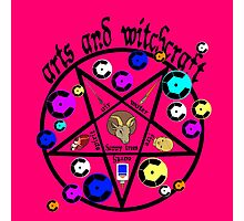 Arts and Witchcraft Photographic Print