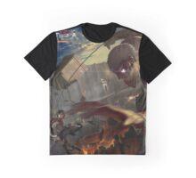 Attack On Titan - Mikasa VS Armoured Titan Graphic T-Shirt