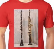 The Two Sopranos - Clarinet and Saxophone Unisex T-Shirt