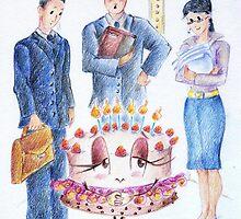 """Storia di una torta"" by Francesca Romana Brogani"