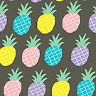 Pineapple pattern by Ekaterina Panova